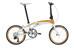 tern Verge - Bicicletas plegables (7/8 velocidades) - naranja/blanco